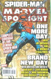 Marvel Spotlight One More Day Brand New Day
